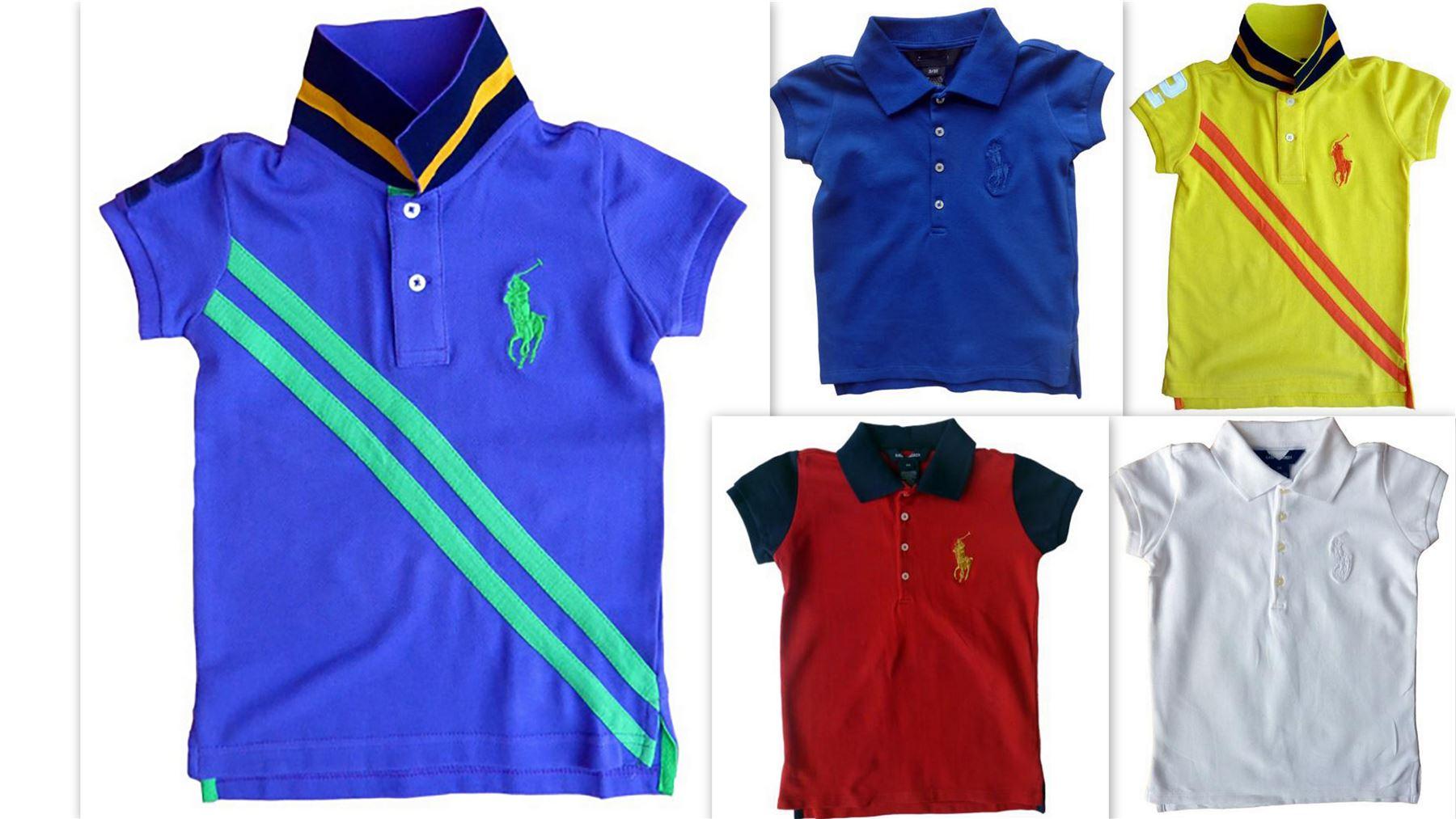 Girls RL Big Pony Short Sleeve Polo T-shirt