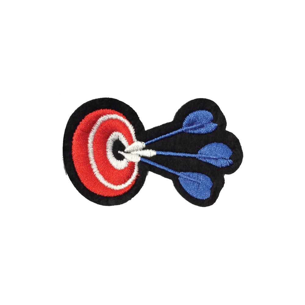 Iron On Embroidery Applique Patch Sew Iron Badge Bulls Eye