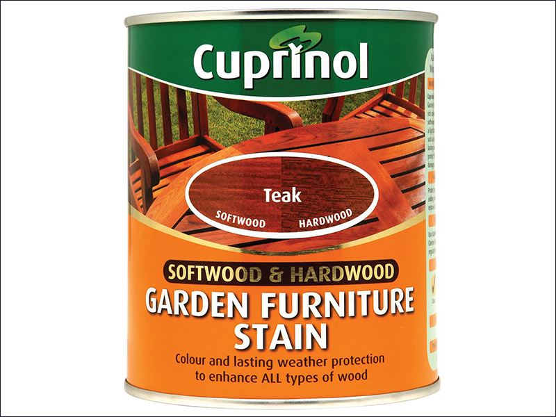 Cuprinol softwood hardwood garden furniture stain teak