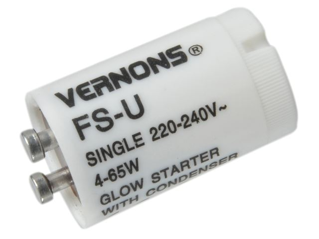 SMJ - Flourescent Tube Starter Switch 4 - 65 Watts