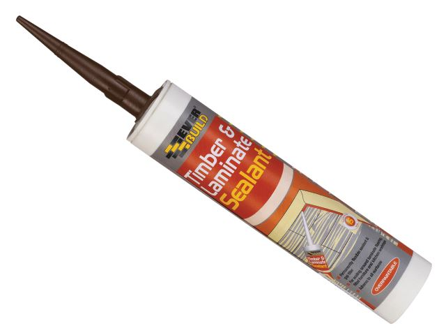 Everbuild Timber Amp Laminate Sealant Oak C3 5029347600136