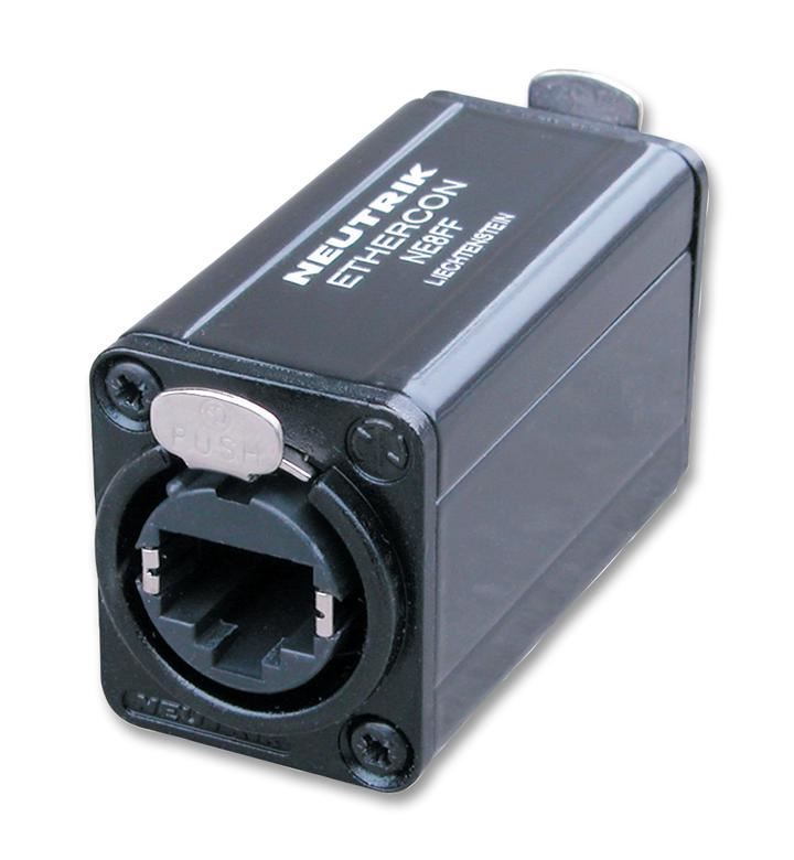 Mates Any Standard RJ45 Plug Brand New Neutrik NE8FF Cat 5 Feed Through Coupler