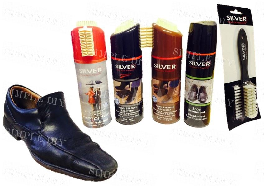shoe care cleaning protector kit waterproof suede