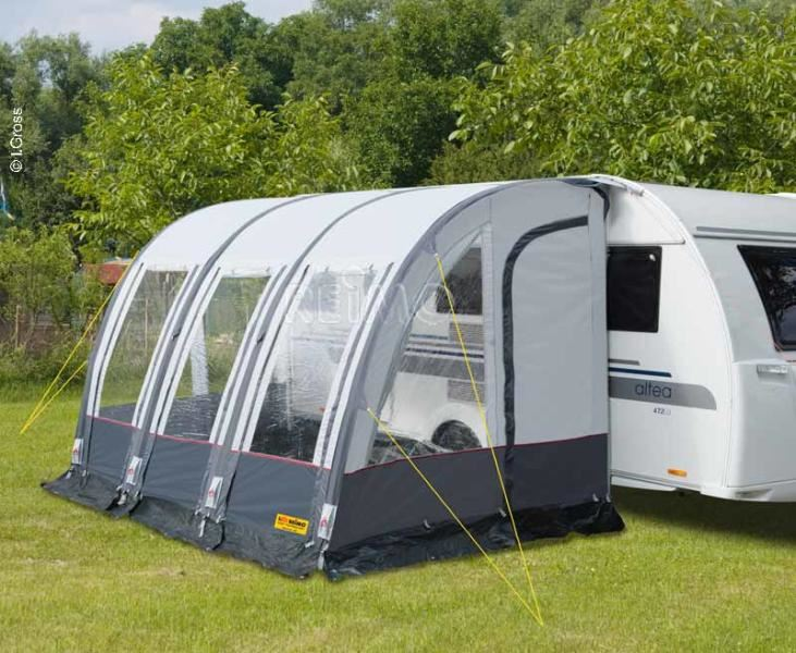 reimo rimini air 390 inflatable caravan porch awning ebay. Black Bedroom Furniture Sets. Home Design Ideas