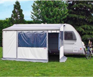 Fiamma Caravanstore Zip Caravan Awning 410 Grey Ebay