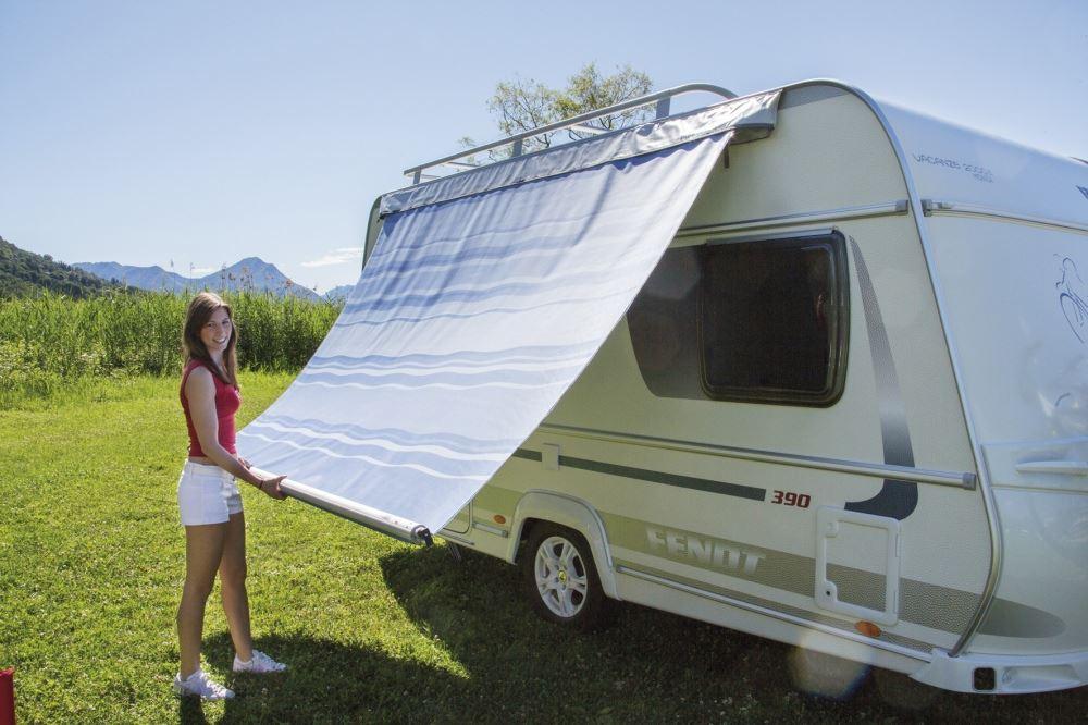 fiamma caravanstore 225 royal blue caravan awning canopy