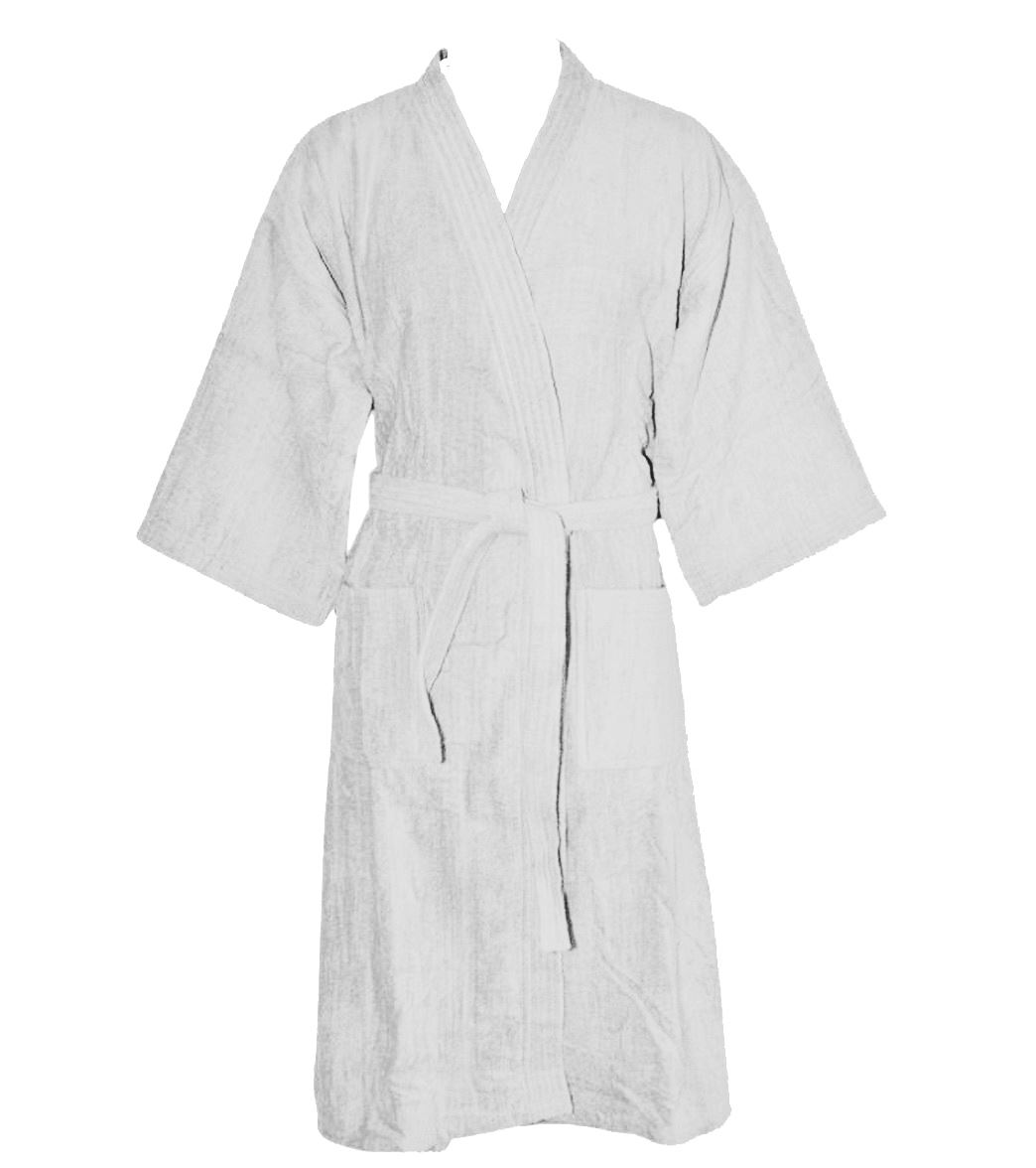 Nightware Toweling Bathrobe 100 Egyptian Cotton Dressing Gown With ...