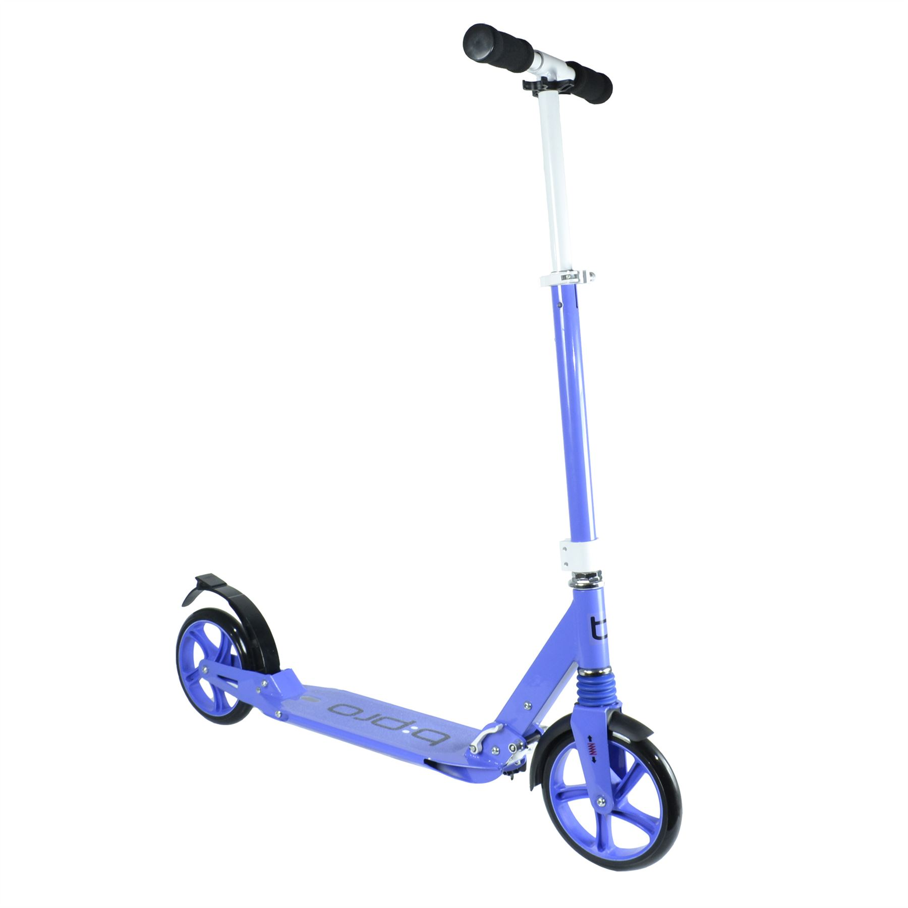 bpro adult urban folding suspension town commute scooter street wheel 200mm kick ebay. Black Bedroom Furniture Sets. Home Design Ideas