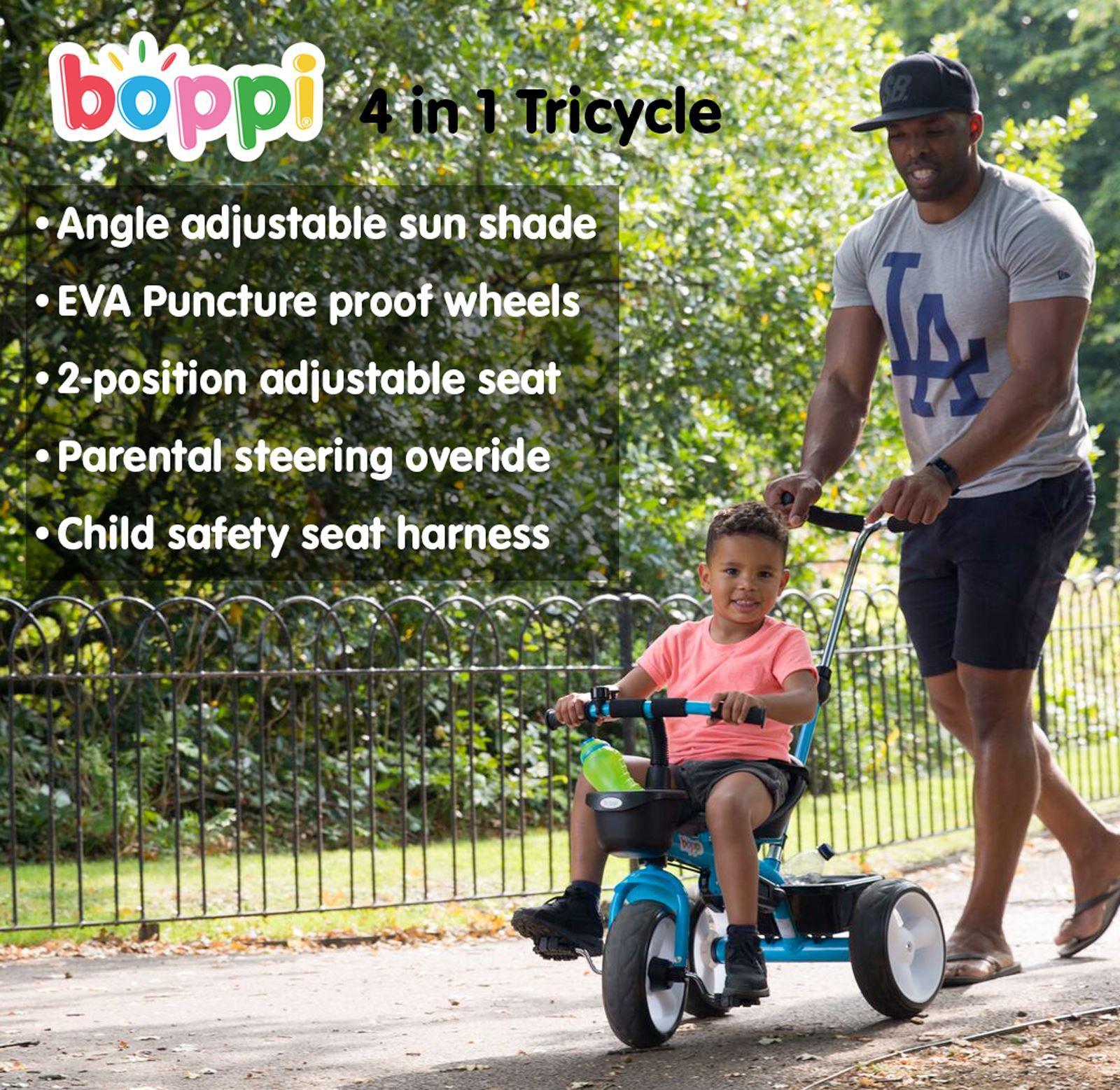 Triciclo-infantil-4-en-1-Boppi-para-nino-y-nina