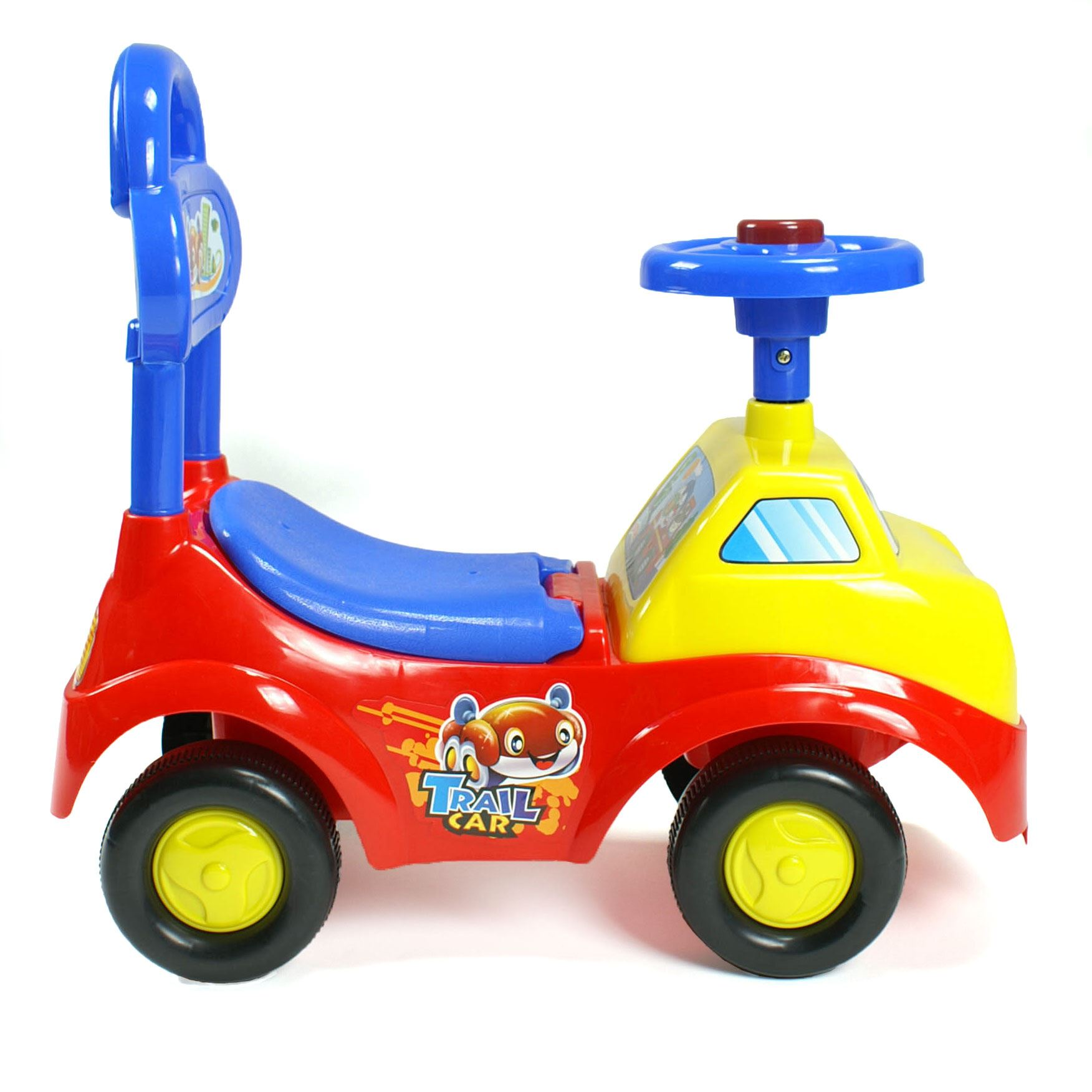 Ride On Toy Car : Baby toddlers ride on push along car truck childrens kids