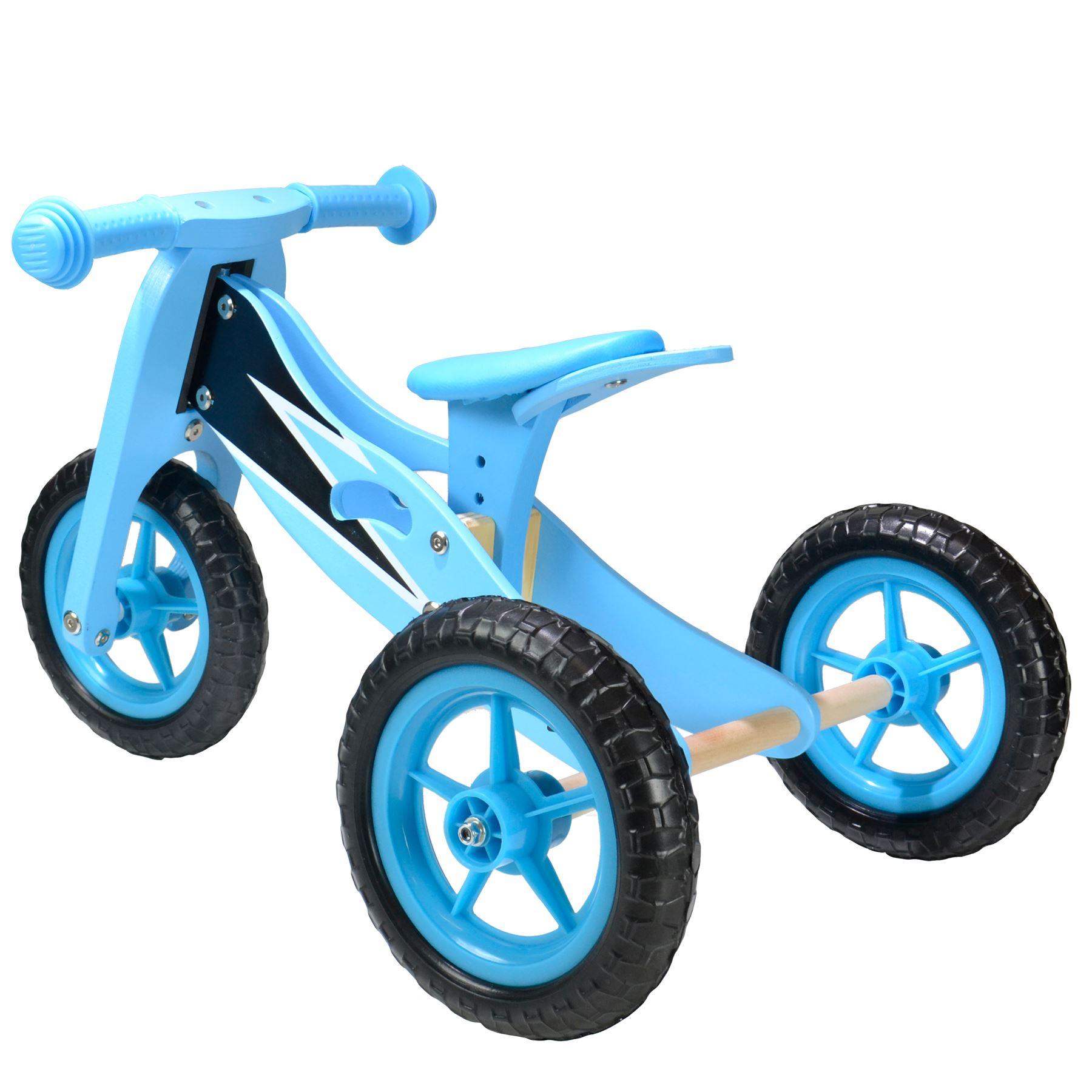 Details About Trike Bike Wooden Balance Training Toddler Kids Baby 2 In 1