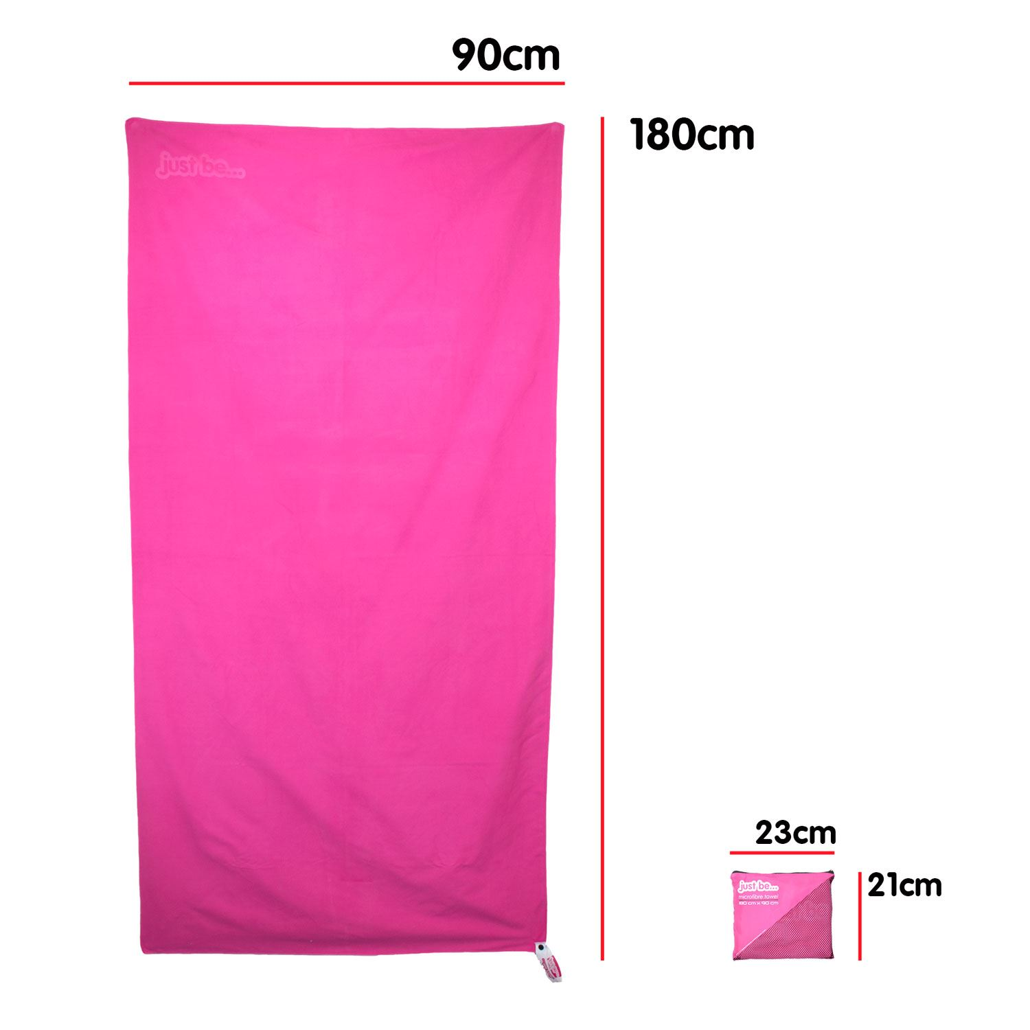 thumbnail 14 - Compact Large Quick Dry Microfibre Beach Towel with Travel Bag Camping Yoga Swim