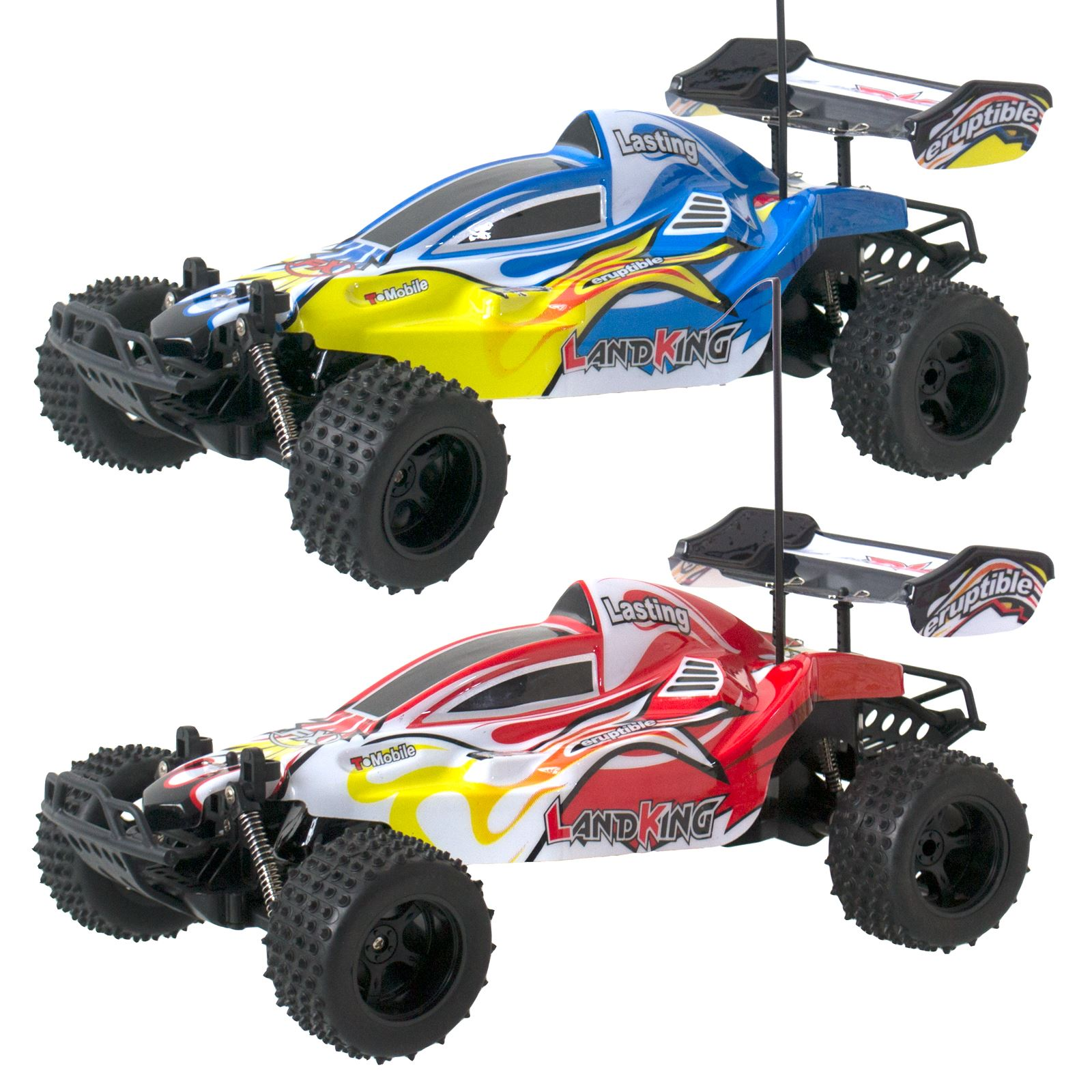 remote radio control rc landking 1 10 off road speed racing buggy car 27mhz red. Black Bedroom Furniture Sets. Home Design Ideas