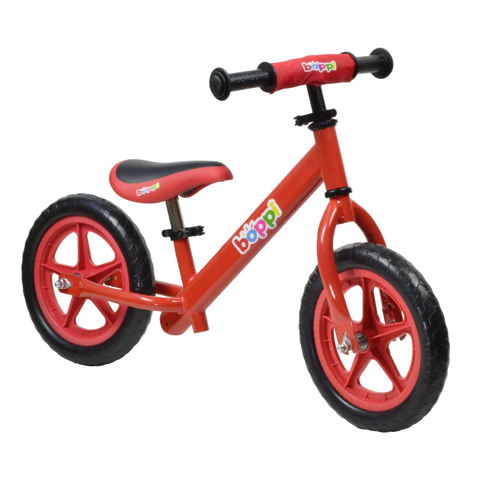 Boppi Childrens Kids Balance Bike Metal Boys Girls Kids Running