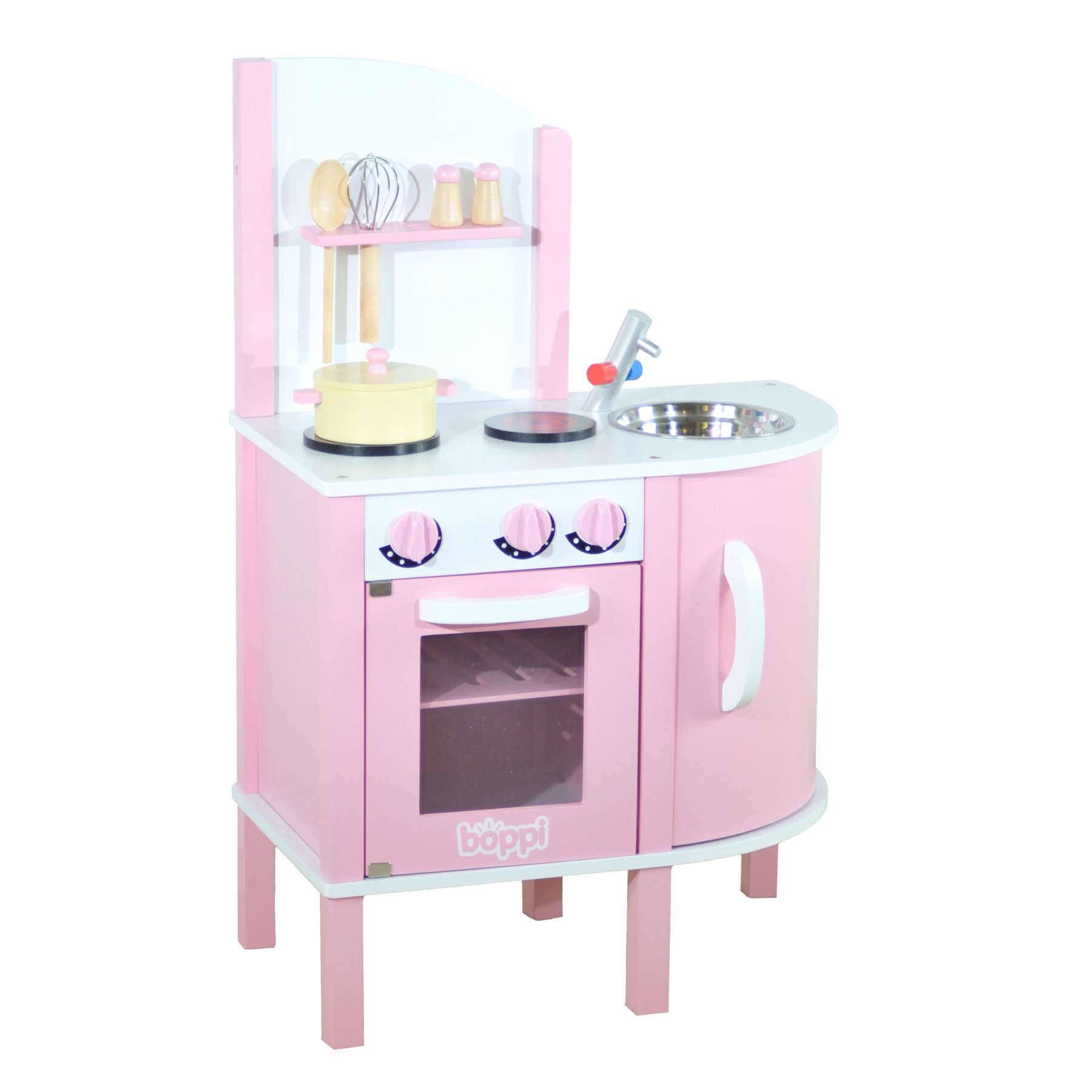 wooden toy kitchen accessories childrens pink wooden kitchen with 5 1651