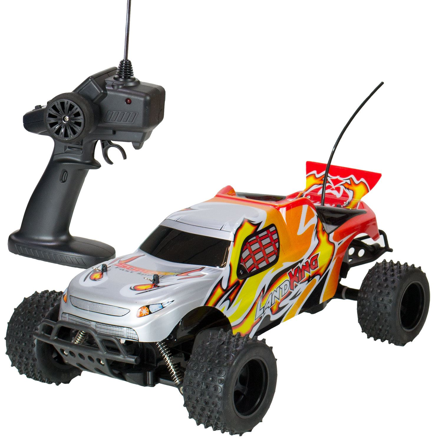 landking radio remote control off road racing rc car buggy monster truck red ebay. Black Bedroom Furniture Sets. Home Design Ideas