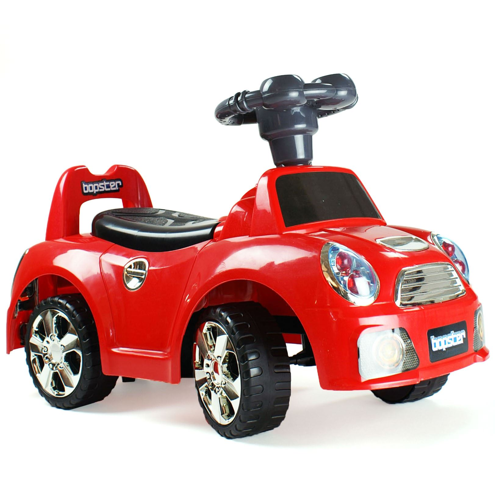 bopster kids toddler ride on push along sports