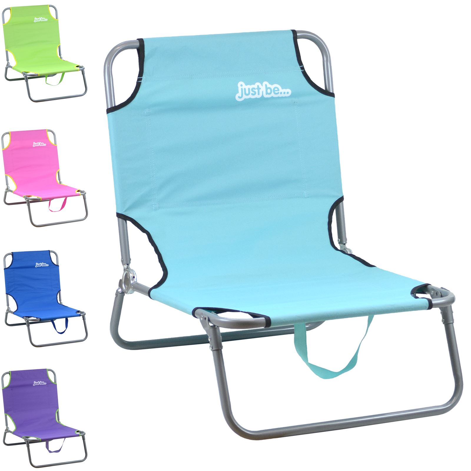 Just Be Sun Chair Camping Seat Foldable Portable