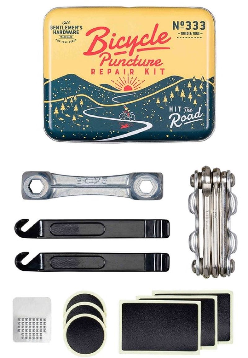Kit Tire Glue Patches Bicycle Inner Mountain Road  Repair Tools Quick Drying a