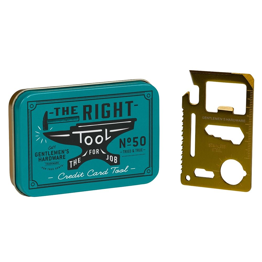Credit Card Tool 10 In 1 Bottle Opener Ruler By Wild /& Wolf Great Gift