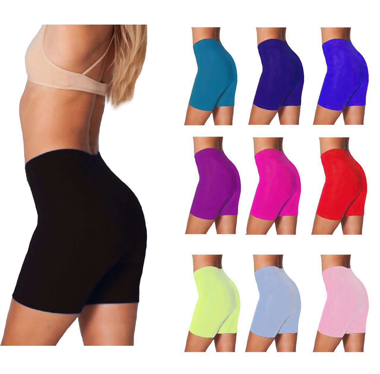 Ladies Womens Cycling Shorts Dancing Shorts Leggings Active Casual Shorts 8-22 Cycling