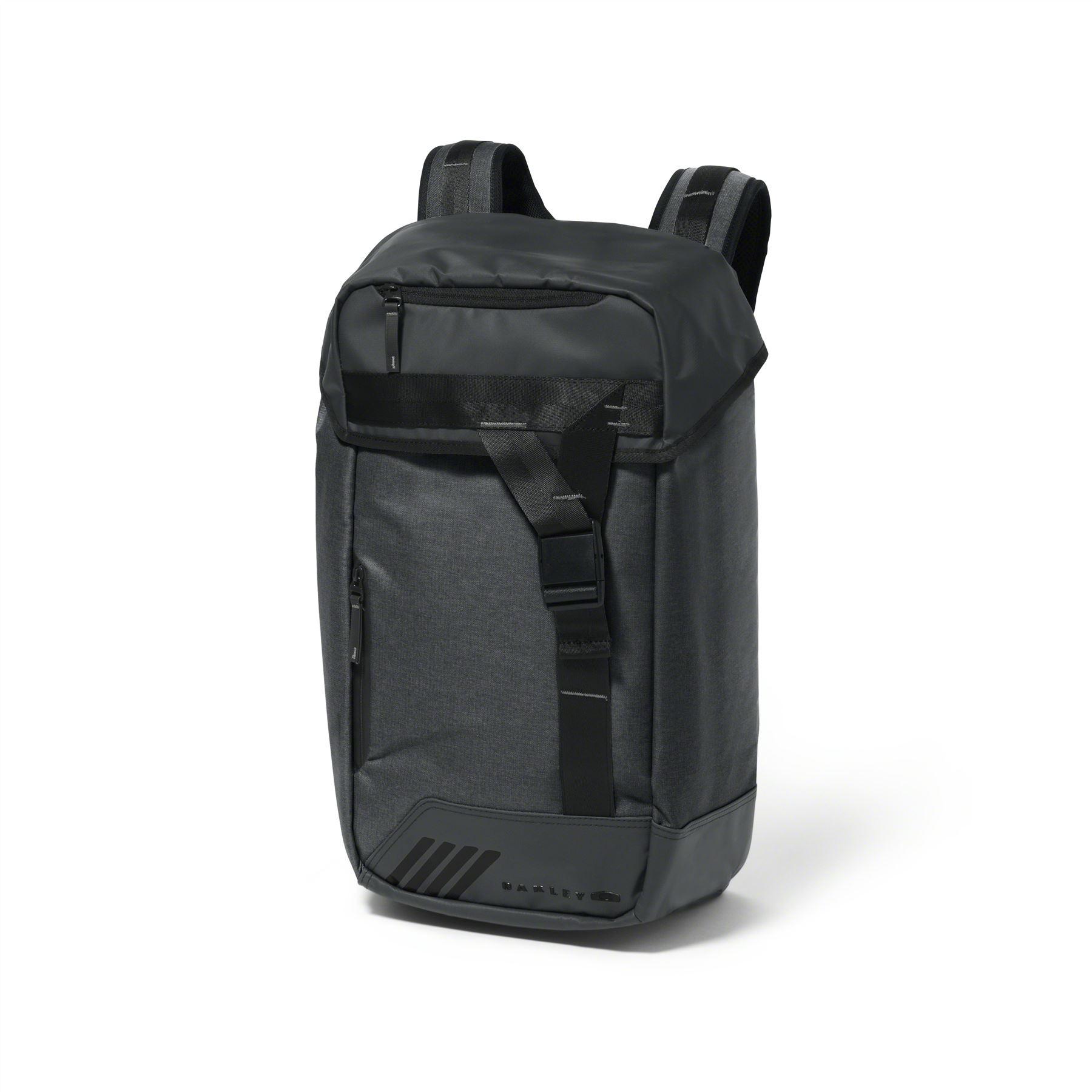f5ba64bfd33 Details about Oakley Halifax Grey   Black 25L Backpack