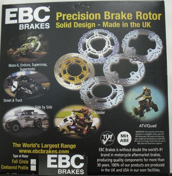 EBC Brakes MD6035C Extreme Moto-X Rear - Cox Motorcycles Direct