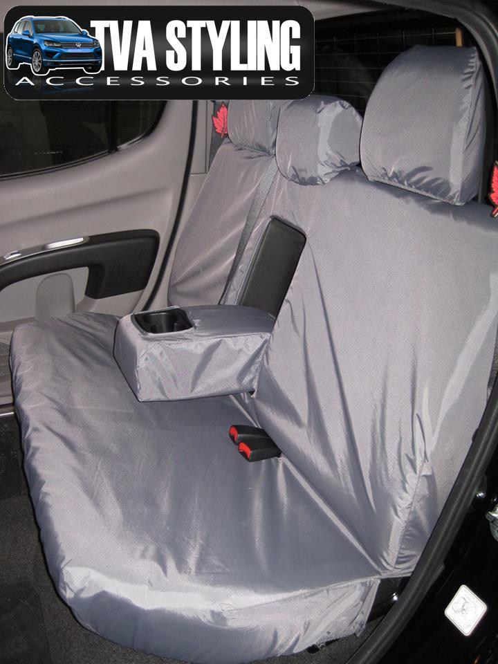 Fundas para asientos grises para mitsubishi l200 coche asiento delantero de referencia