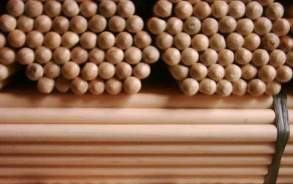 Wooden Broom Handles Shaft 5 Feet For Sweeping Brush 150Cm x 28mm Quantity 28