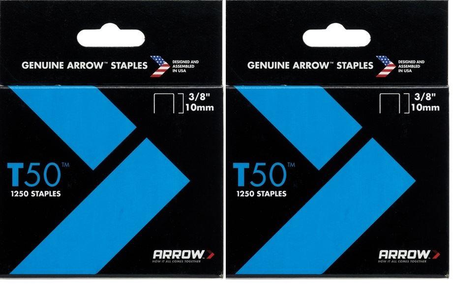 2er Set Packungen 10mm Pfeil T50 Klammern für Klammer Guns | eBay