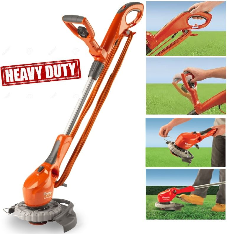 Flymo Strimmer Trimmer Lawn Grass Edger 650e Contour Heavy