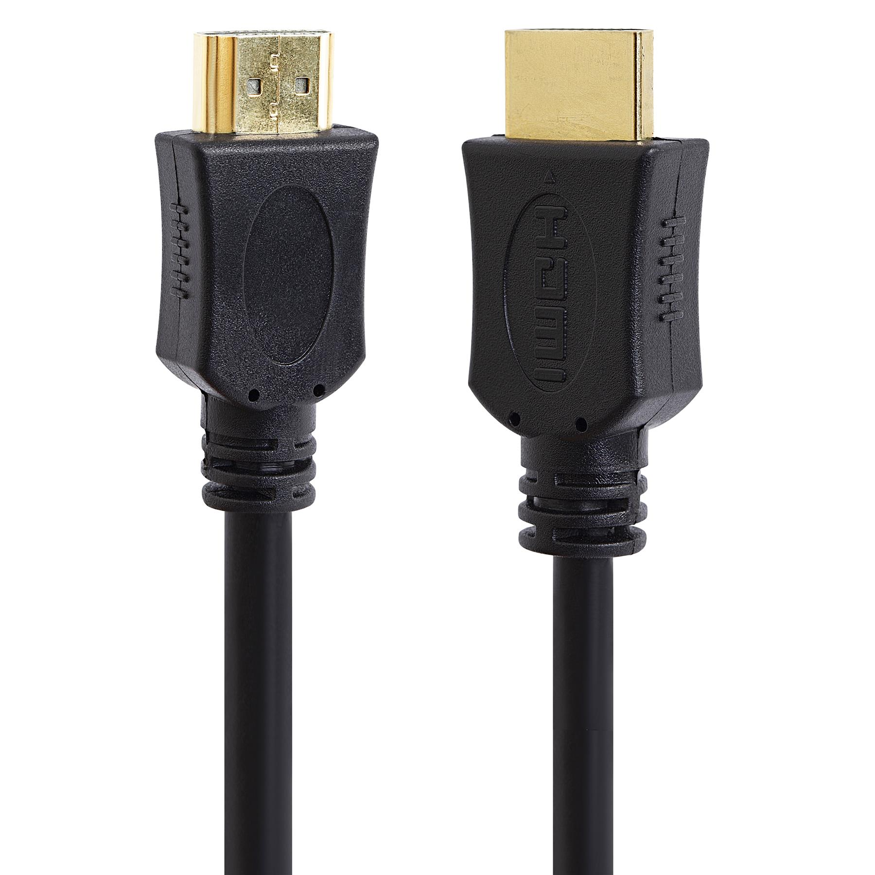 Premium-HDMI-Cable-High-Speed-3D-4K-HD-TV-Monitor-Lead-0-5m-1m-2m-3m-5m miniatura 4