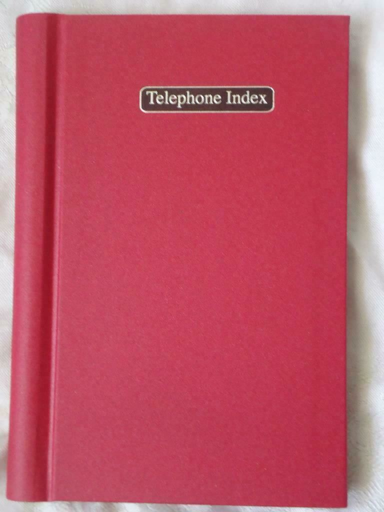 Details about A5 BOUND HARDBACK COVER WIRE WIRO TELEPHONE ADDRESS INDEX  PHONE BOOK BRAND NEW
