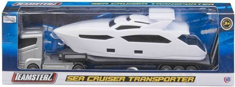 Teamsterz Sea Cruiser Brand New Luxury Yacht Die Transporter Cast Toy Party Boat