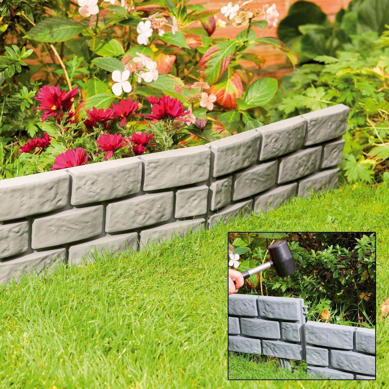 Gardenedging: Parkland Flexible Hammer-In Garden Path Lawn Plants Border