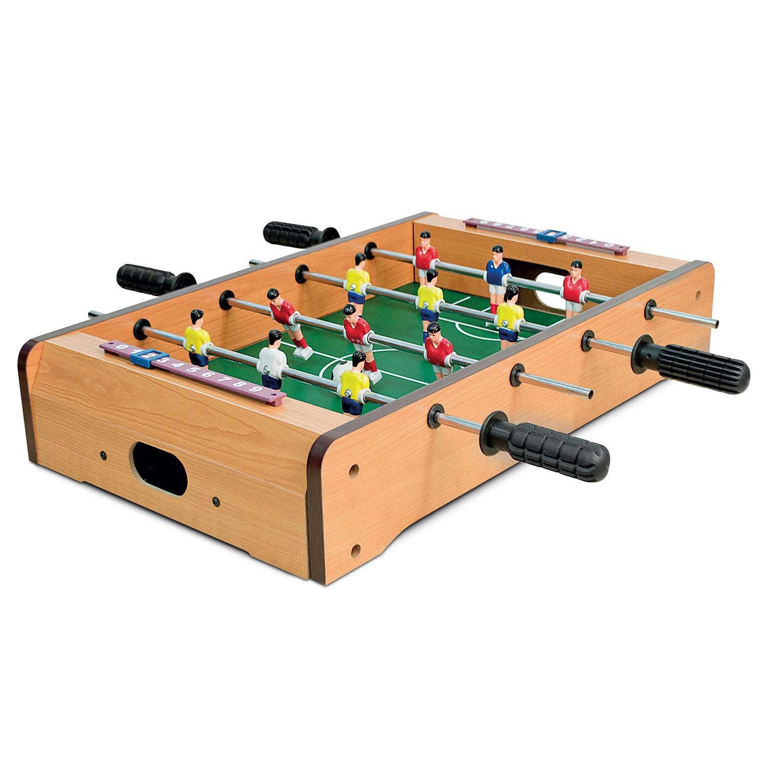 Genial Mini Table Top Air Hockey Football Pool Game