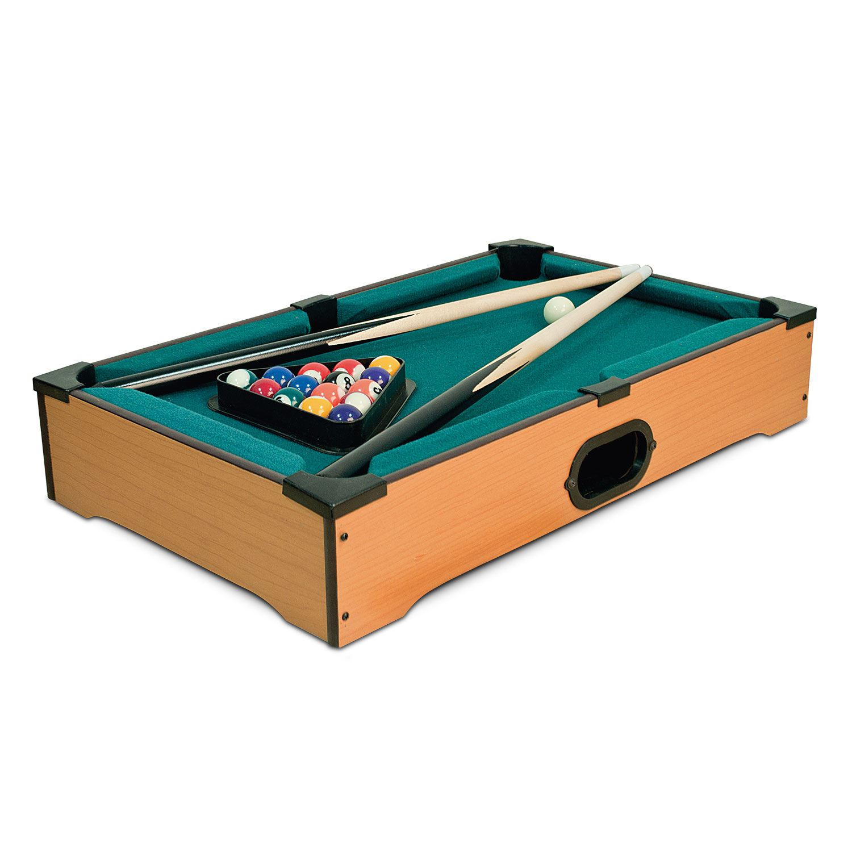 Mini Table Top Pool Air Hockey Football Foosball