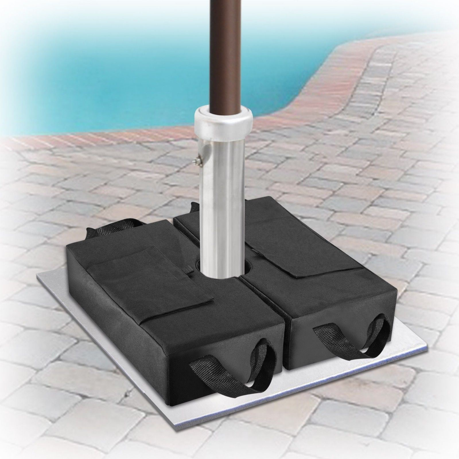 Garden Umbrella Base Weight Bag Sand Stand for Outdoor Tents