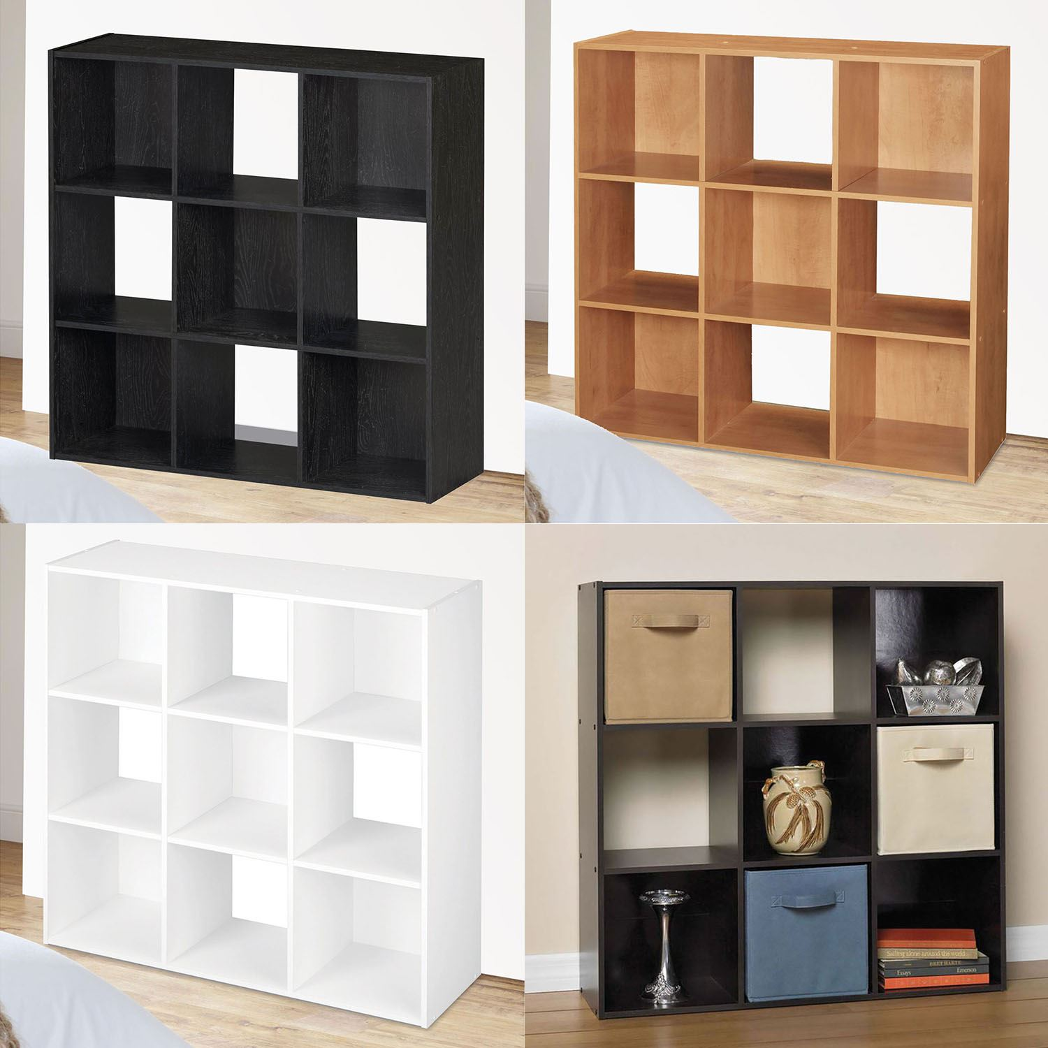 gloss winsome size floating black cube storage shelf full box shelves design cubes high gorgeous