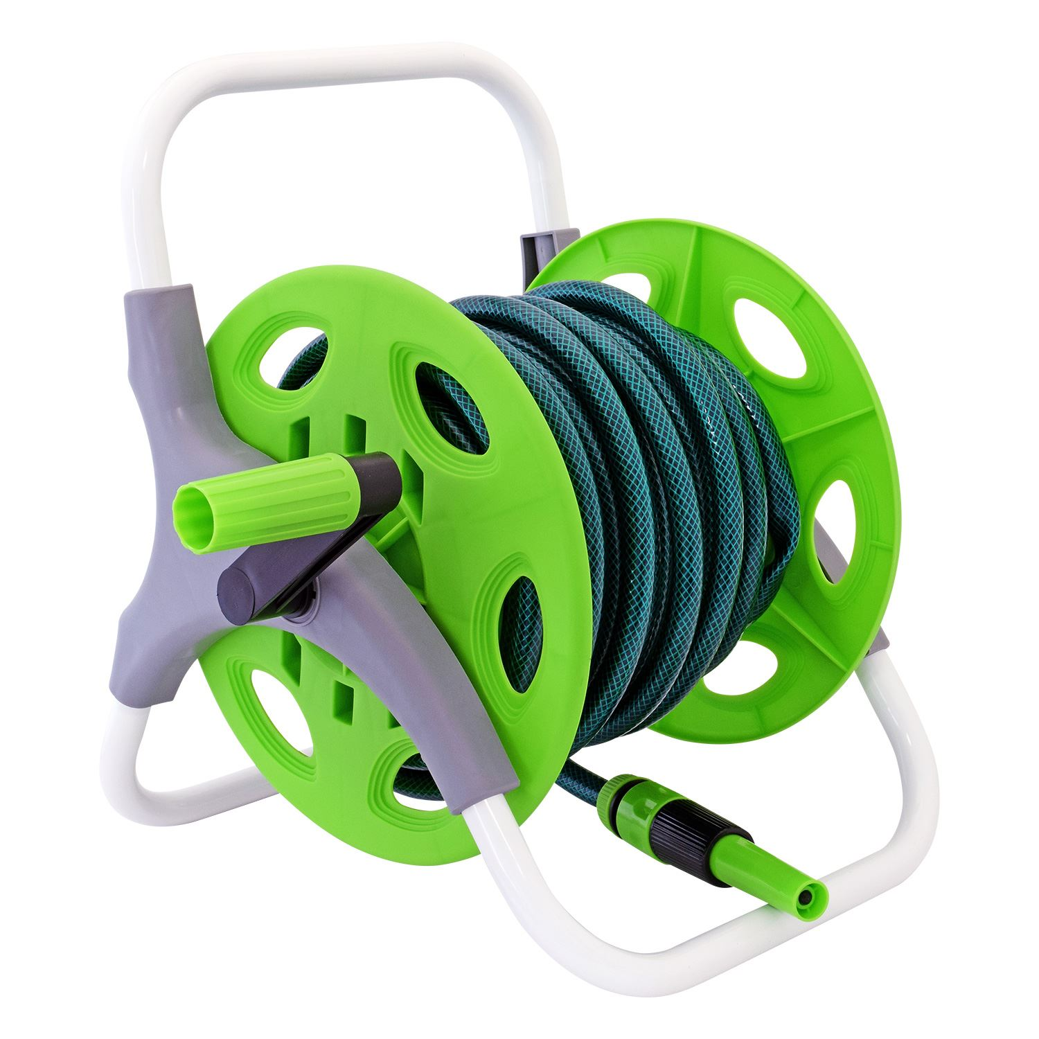 15m-25m-60m-Flat-Hose-Pipe-Reel-Trolley-  sc 1 st  eBay : hose pipe on reel - www.happyfamilyinstitute.com