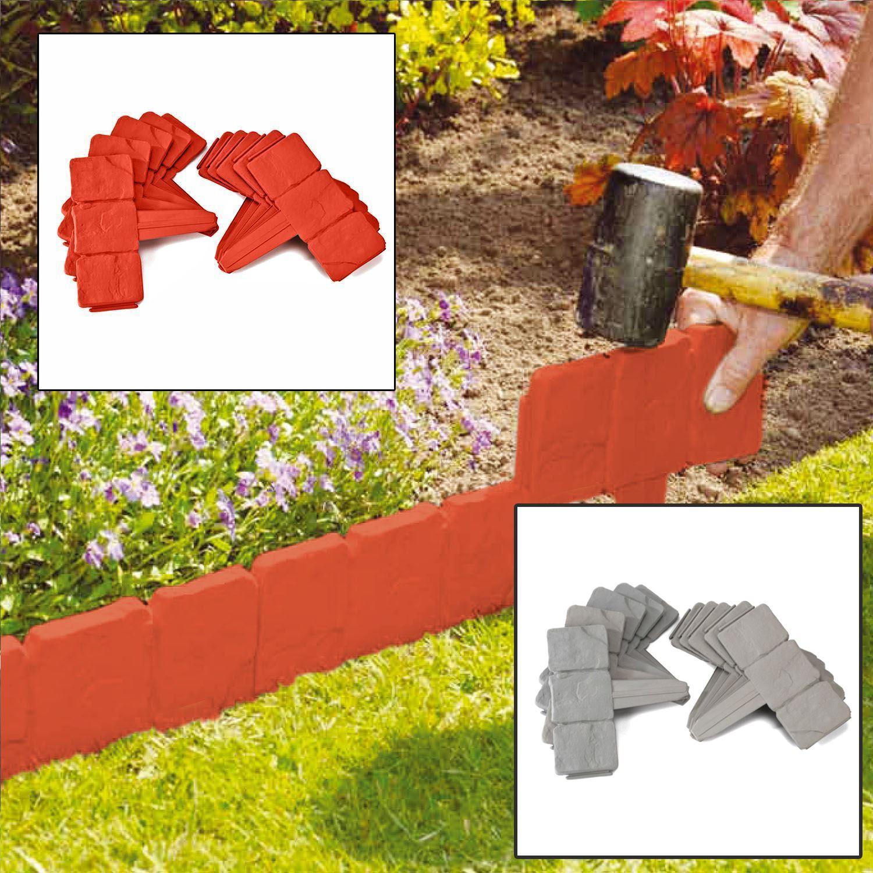 H13cm 6m Easy Install Plastic Lawn Edge