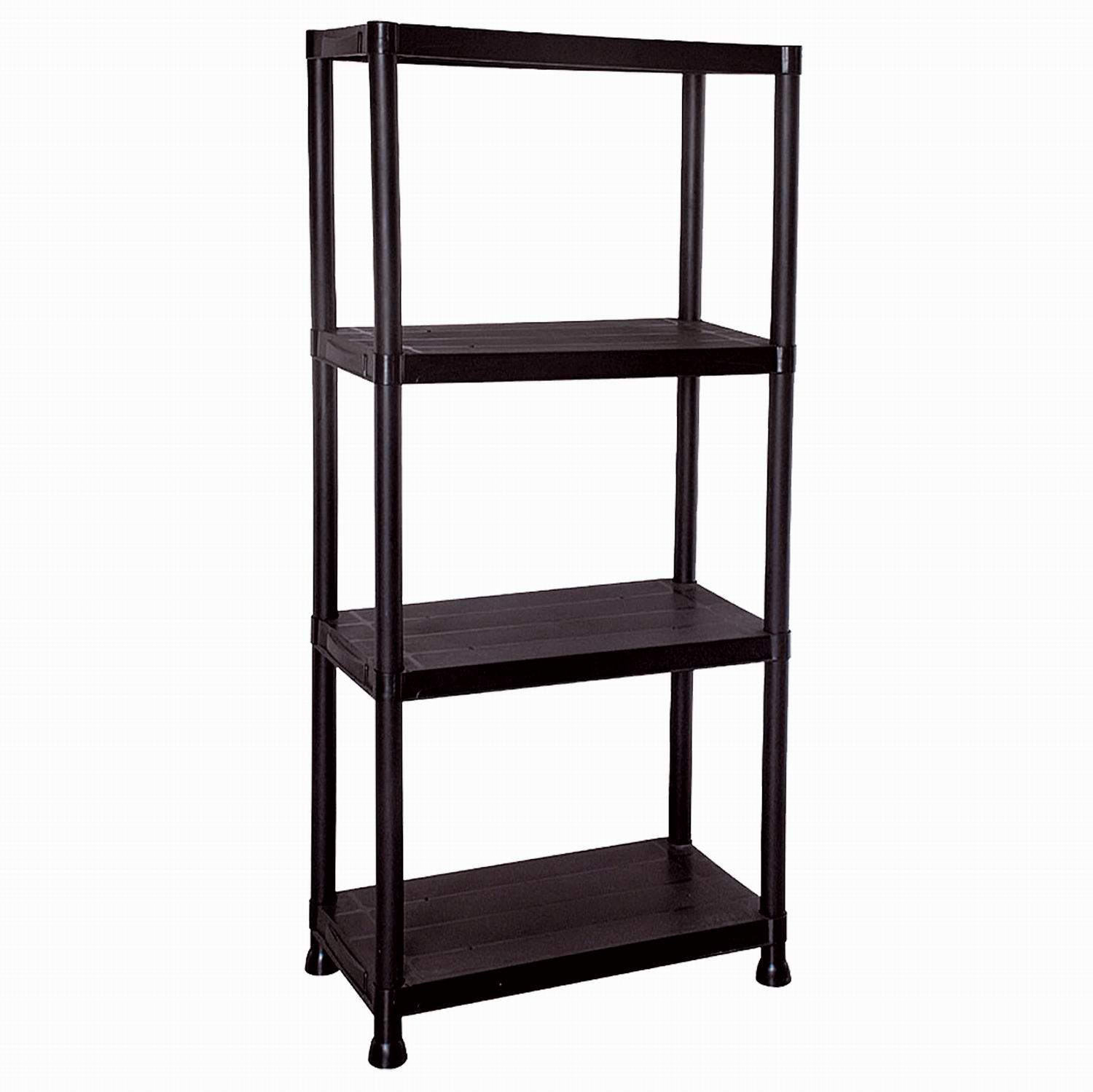 storage shelving units 4 5 tier black plastic shelving unit storage shelves 26896