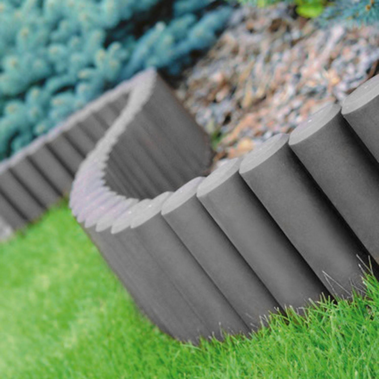 Palisade lawn edge plant border path garden for Path and border edging