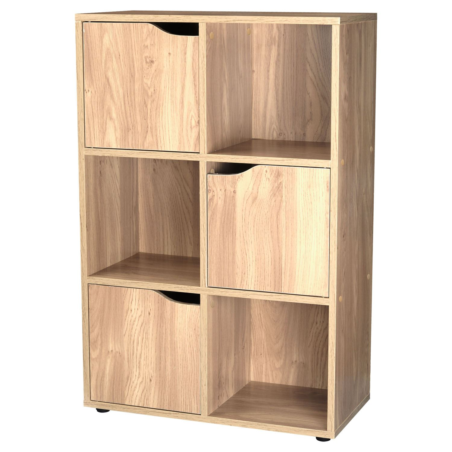 shelving unit with doors 4 6 9 cubes wooden storage display unit shelves cupboard 26051