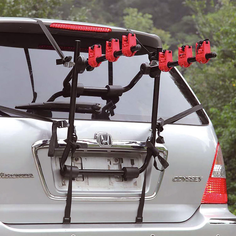 Universal 23 Bike Bicycle Carrier Car Rack Holder Fits Saloon