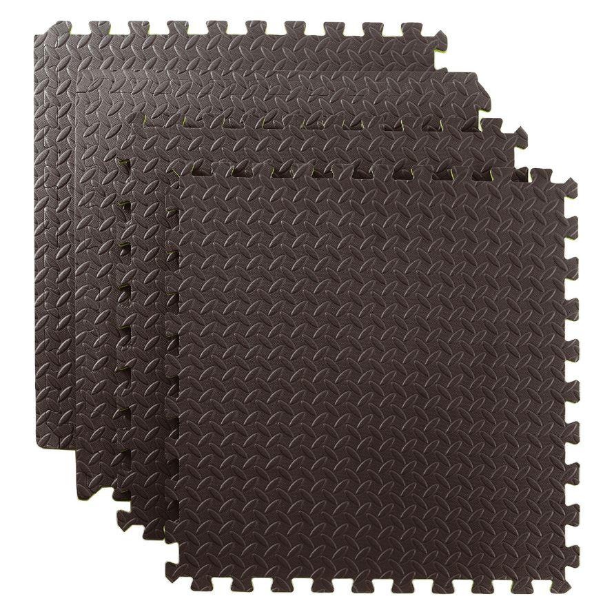 Sq ft interlocking eva foam exercise floor mats gym
