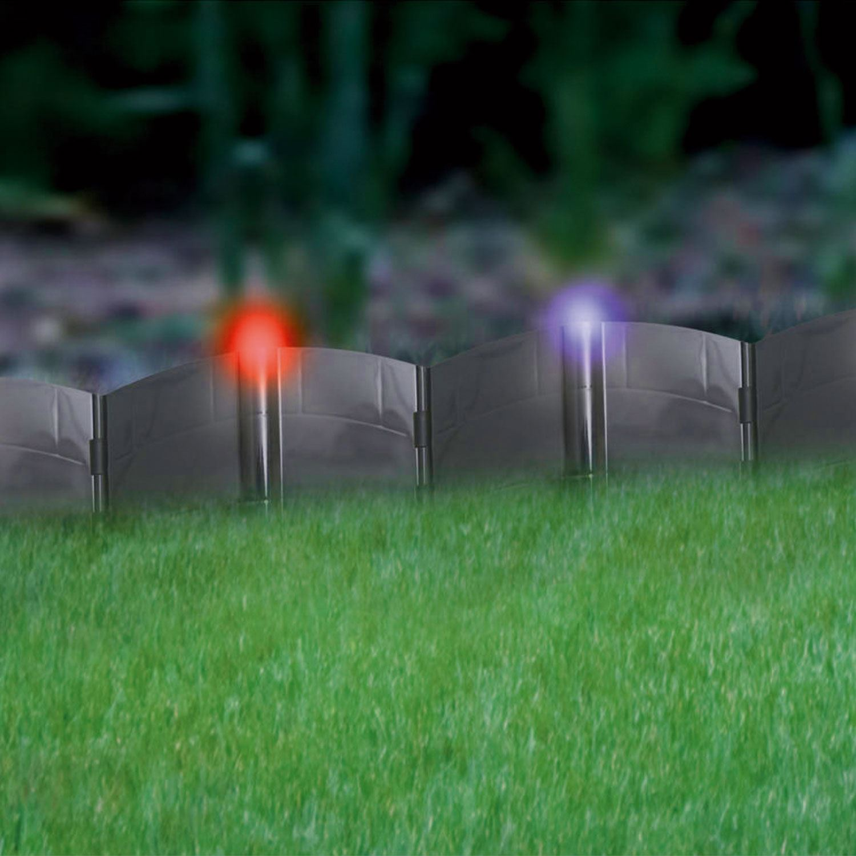 24 X Solar Powered Led Light Up Hammer In Garden Lawn
