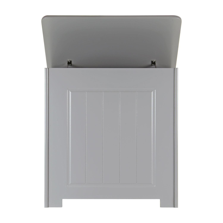 Grey-Wooden-Bathroom-Cabinet-Shelf-Cupboard-Bedroom-Storage-Unit-Free-Standing thumbnail 42