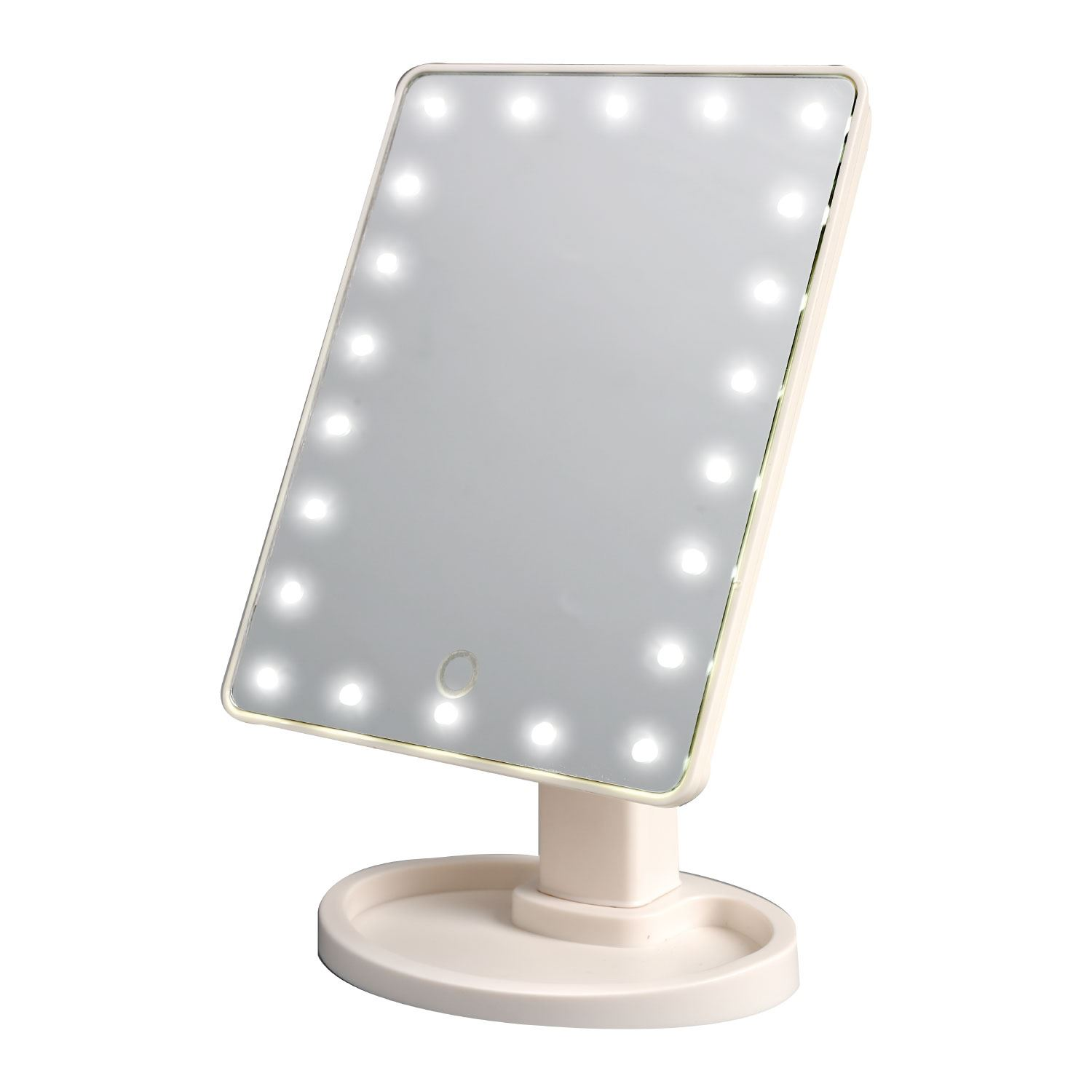 Mirrors Small: 22 LED Light Illuminated Make Up Cosmetic Mirror With