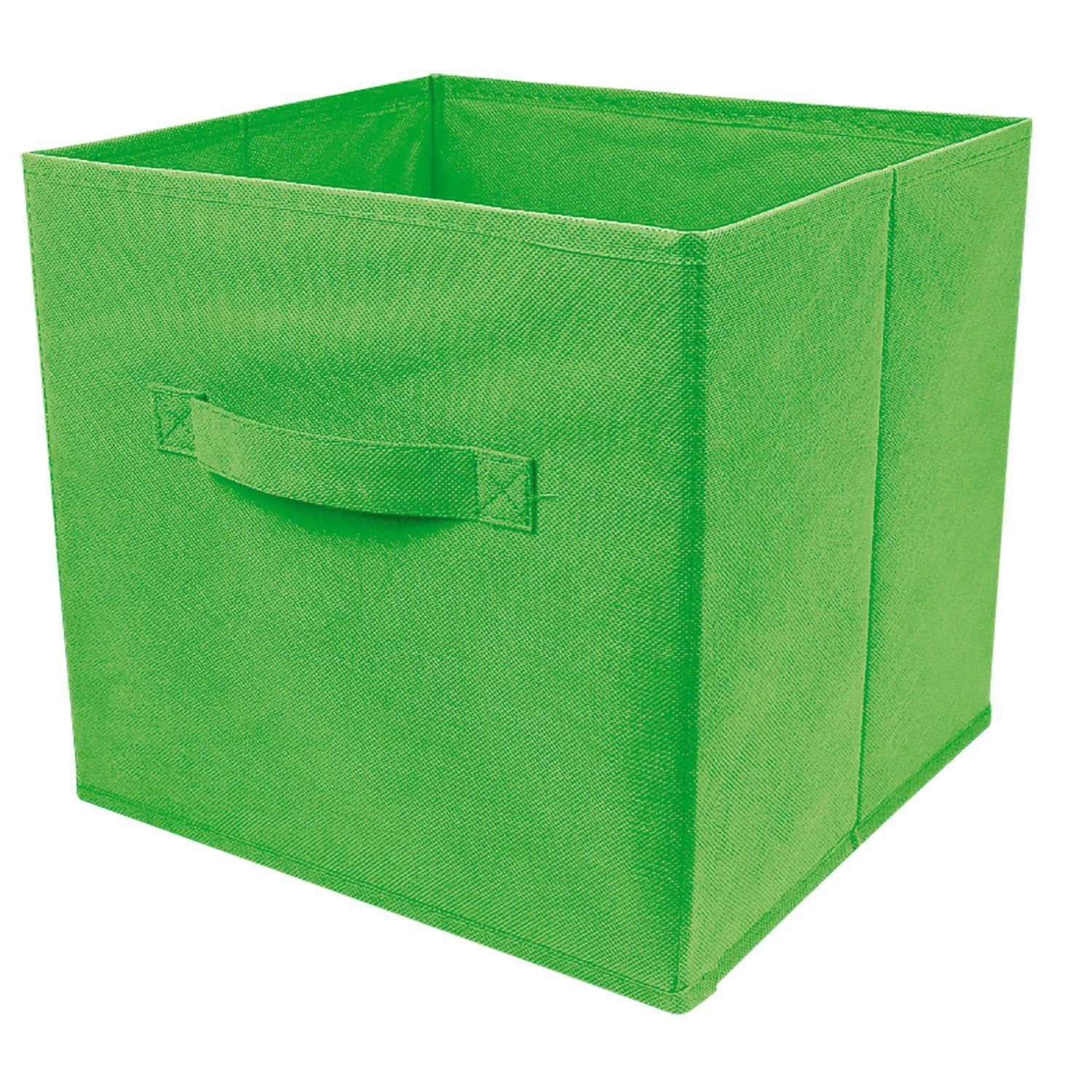 2019 New Wardrobe Kids Organizer Bins Box For Toys: 6 Foldable Square Storage Collapsible Folding Box Clothes